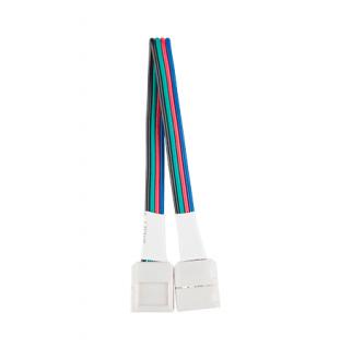 Коннектор для светодиодной ленты с возможностью изгиба RGB