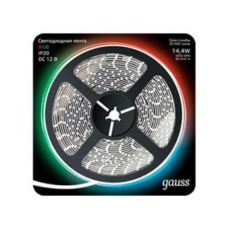 Светодиодная лента Gauss Black 5050-SMD